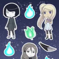 Willow's Tale stickers